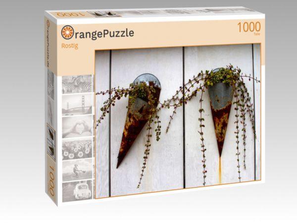 """Puzzle Motiv """"Rostig"""" - Puzzle-Schachtel zu 1000 Teile Puzzle"""
