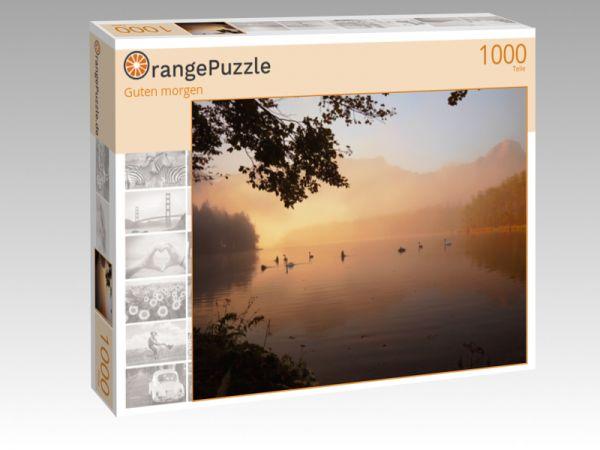 "Puzzle Motiv ""Guten morgen"" - Puzzle-Schachtel zu 1000 Teile Puzzle"
