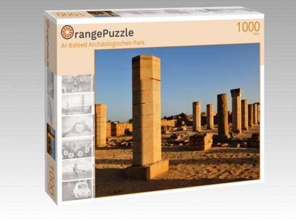 """Puzzle Motiv """"Al-Baleed Archäologischen Park"""" - Puzzle-Schachtel zu 1000 Teile Puzzle"""