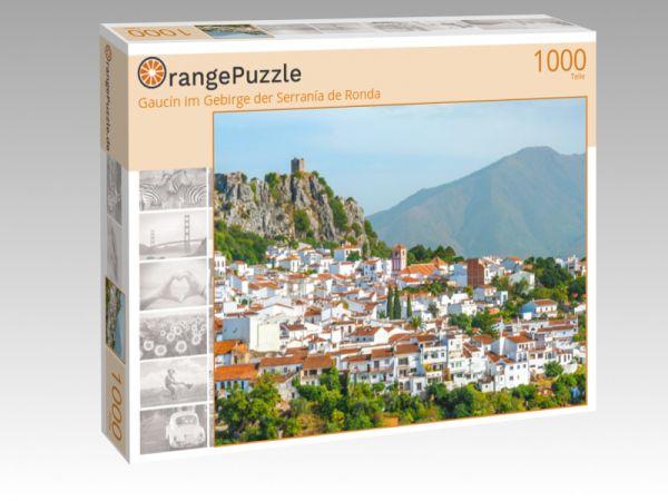 """Puzzle Motiv """"Gaucín im Gebirge der Serranía de Ronda"""" - Puzzle-Schachtel zu 1000 Teile Puzzle"""
