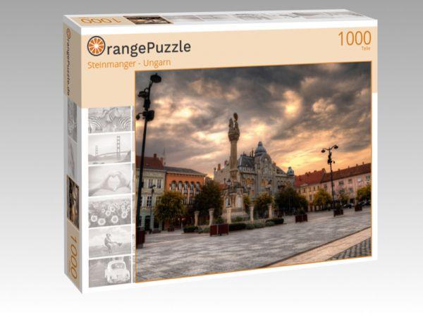 """Puzzle Motiv """"Steinmanger - Ungarn"""" - Puzzle-Schachtel zu 1000 Teile Puzzle"""
