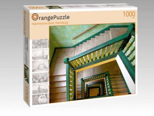 "Puzzle Motiv ""Hammonia Bad, Hamburg"" - Puzzle-Schachtel zu 1000 Teile Puzzle"