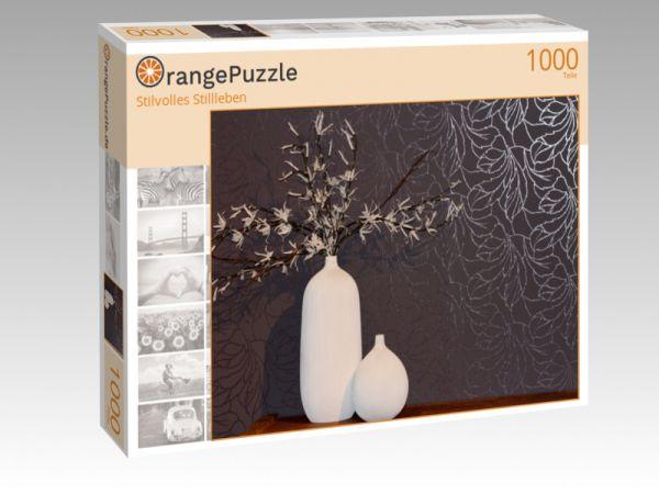 """Puzzle Motiv """"Stilvolles Stillleben"""" - Puzzle-Schachtel zu 1000 Teile Puzzle"""