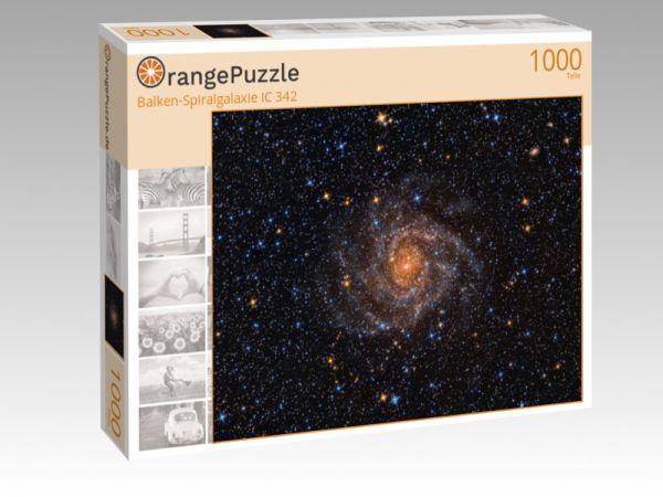 """Puzzle Motiv """"Balken-Spiralgalaxie IC 342"""" - Puzzle-Schachtel zu 1000 Teile Puzzle"""