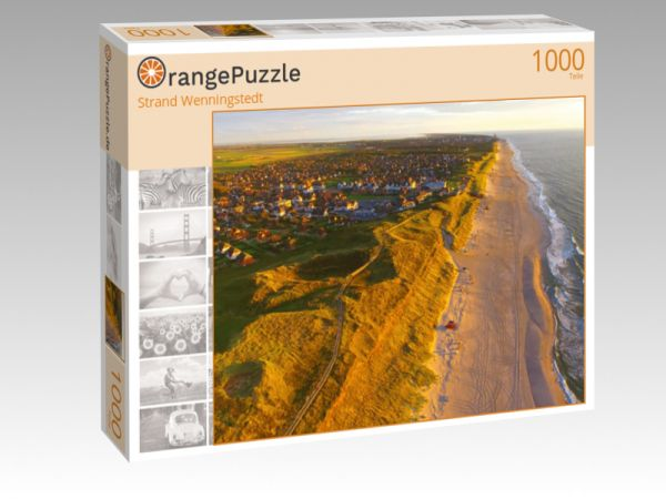 """Puzzle Motiv """"Strand Wenningstedt"""" - Puzzle-Schachtel zu 1000 Teile Puzzle"""