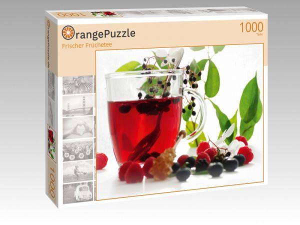 """Puzzle Motiv """"Frischer Früchetee"""" - Puzzle-Schachtel zu 1000 Teile Puzzle"""