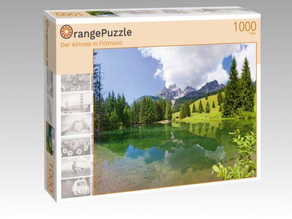 """Puzzle Motiv """"Der Almsee in Filzmoos"""" - Puzzle-Schachtel zu 1000 Teile Puzzle"""