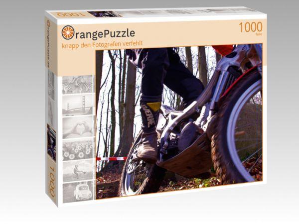 """Puzzle Motiv """"knapp den Fotografen verfehlt"""" - Puzzle-Schachtel zu 1000 Teile Puzzle"""