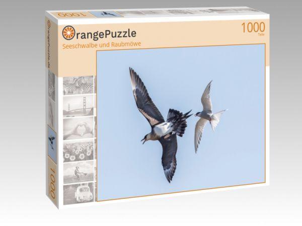 """Puzzle Motiv """"Seeschwalbe und Raubmöwe"""" - Puzzle-Schachtel zu 1000 Teile Puzzle"""
