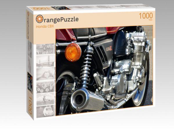 """Puzzle Motiv """"Honda CBX"""" - Puzzle-Schachtel zu 1000 Teile Puzzle"""