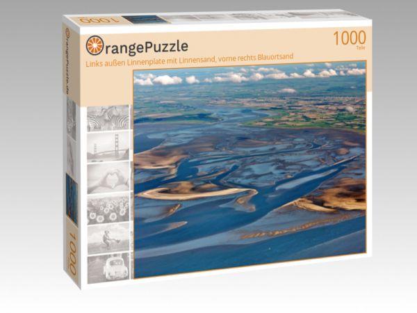 """Puzzle Motiv """"Links außen Linnenplate mit Linnensand, vorne rechts Blauortsand"""" - Puzzle-Schachtel zu 1000 Teile Puzzle"""