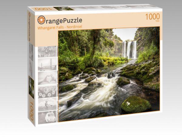 """Puzzle Motiv """"Whangarei Falls - Nordinsel"""" - Puzzle-Schachtel zu 1000 Teile Puzzle"""