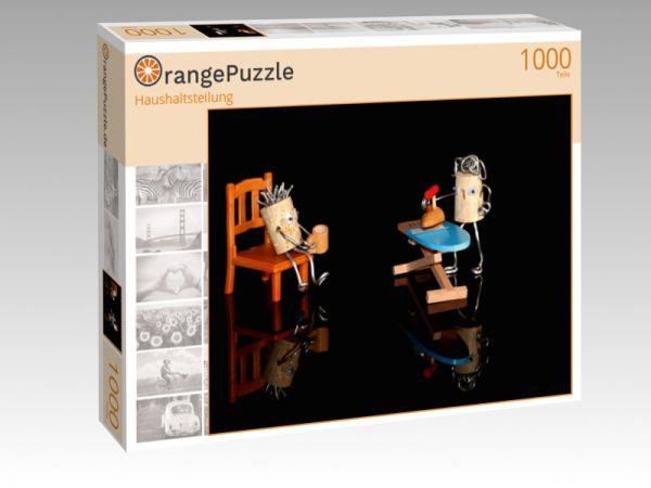 """Puzzle Motiv """"Haushaltsteilung"""" - Puzzle-Schachtel zu 1000 Teile Puzzle"""