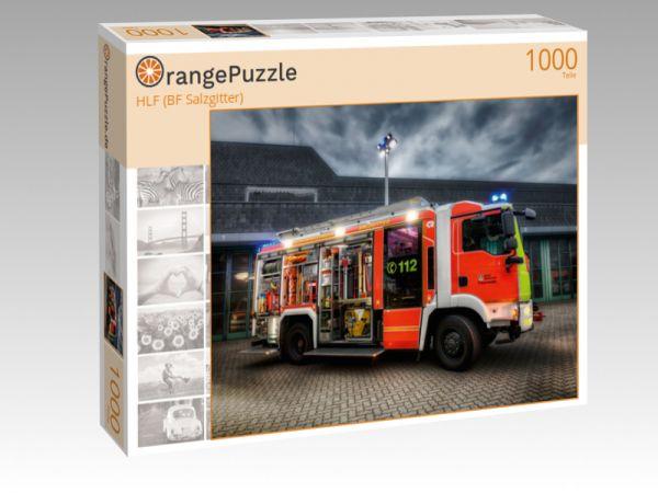 "Puzzle Motiv ""HLF (BF Salzgitter)"" - Puzzle-Schachtel zu 1000 Teile Puzzle"