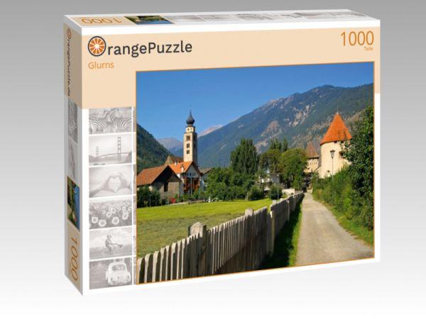 """Puzzle Motiv """"Glurns"""" - Puzzle-Schachtel zu 1000 Teile Puzzle"""