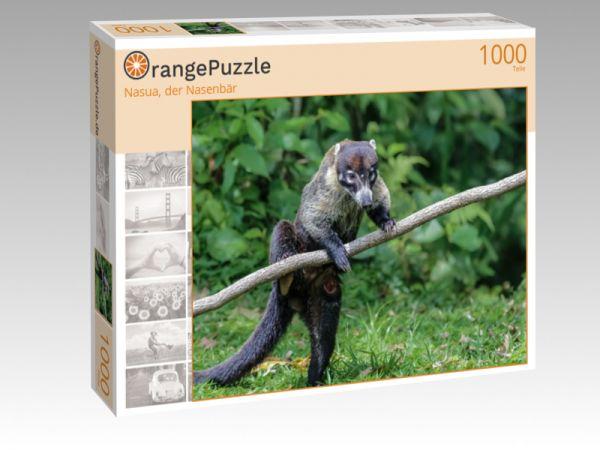 "Puzzle Motiv ""Nasua, der Nasenbär"" - Puzzle-Schachtel zu 1000 Teile Puzzle"
