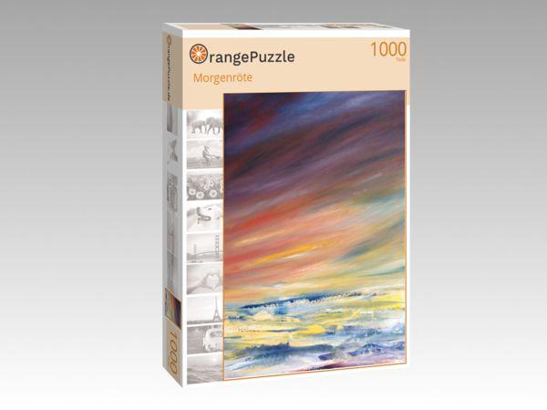 """Puzzle Motiv """"Morgenröte"""" - Puzzle-Schachtel zu 1000 Teile Puzzle"""