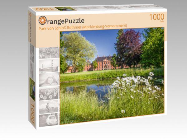 """Puzzle Motiv """"Park von Schloß Bothmer (Mecklenburg-Vorpommern)"""" - Puzzle-Schachtel zu 1000 Teile Puzzle"""