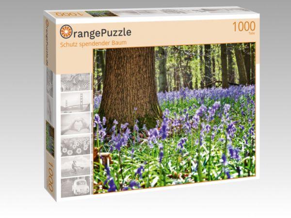 """Puzzle Motiv """"Schutz spendender Baum"""" - Puzzle-Schachtel zu 1000 Teile Puzzle"""