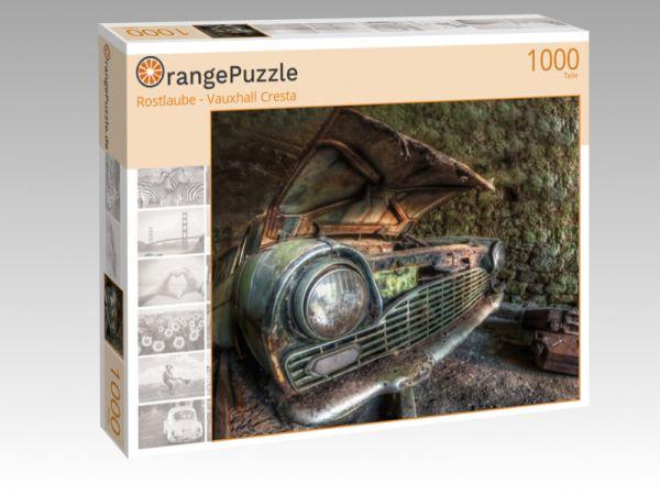 "Puzzle Motiv ""Rostlaube - Vauxhall Cresta"" - Puzzle-Schachtel zu 1000 Teile Puzzle"