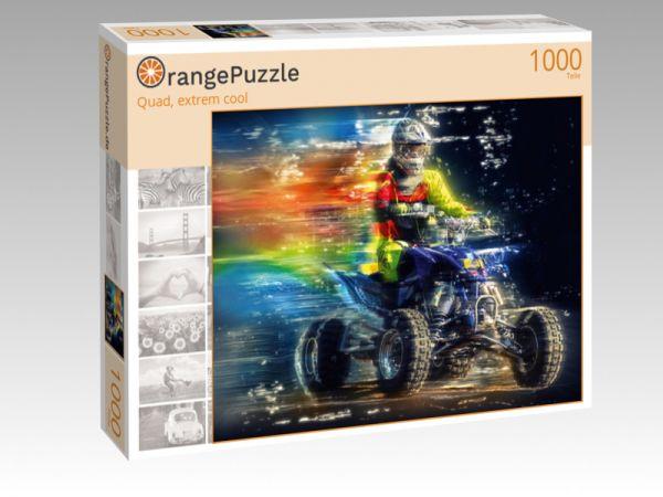 """Puzzle Motiv """"Quad, extrem cool"""" - Puzzle-Schachtel zu 1000 Teile Puzzle"""