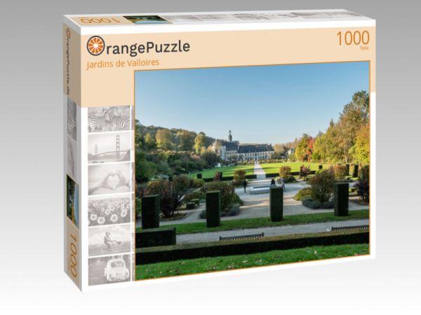 """Puzzle Motiv """"Jardins de Valloires"""" - Puzzle-Schachtel zu 1000 Teile Puzzle"""