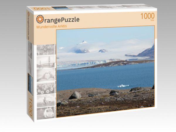 """Puzzle Motiv """"Wundervolle Arktis"""" - Puzzle-Schachtel zu 1000 Teile Puzzle"""