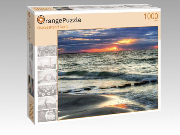 """Puzzle Motiv """"Ostseestrand Darß"""" - Puzzle-Schachtel zu 1000 Teile Puzzle"""