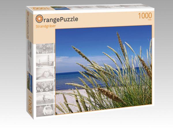 "Puzzle Motiv ""Strandgräser"" - Puzzle-Schachtel zu 1000 Teile Puzzle"