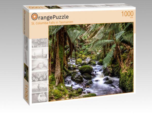 "Puzzle Motiv ""St. Columba Falls in Tasmanien"" - Puzzle-Schachtel zu 1000 Teile Puzzle"