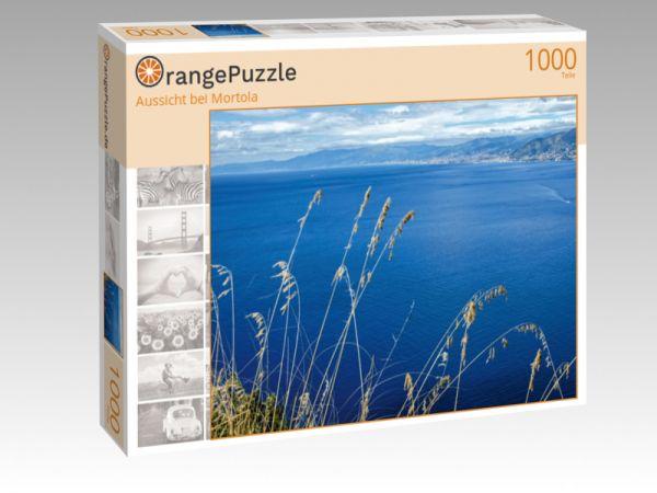 """Puzzle Motiv """"Aussicht bei Mortola"""" - Puzzle-Schachtel zu 1000 Teile Puzzle"""