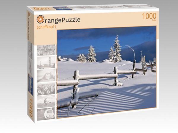 """Puzzle Motiv """"Schliffkopf I"""" - Puzzle-Schachtel zu 1000 Teile Puzzle"""