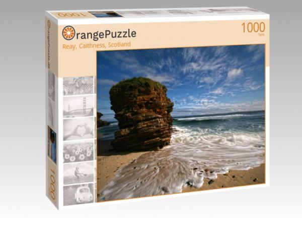 """Puzzle Motiv """"Reay, Caithness, Scotland"""" - Puzzle-Schachtel zu 1000 Teile Puzzle"""