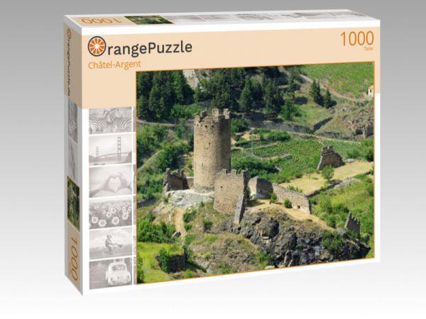 """Puzzle Motiv """"Châtel-Argent"""" - Puzzle-Schachtel zu 1000 Teile Puzzle"""
