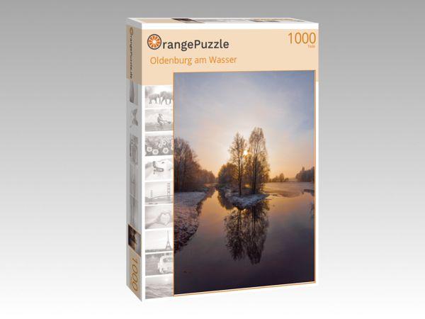 """Puzzle Motiv """"Oldenburg am Wasser"""" - Puzzle-Schachtel zu 1000 Teile Puzzle"""