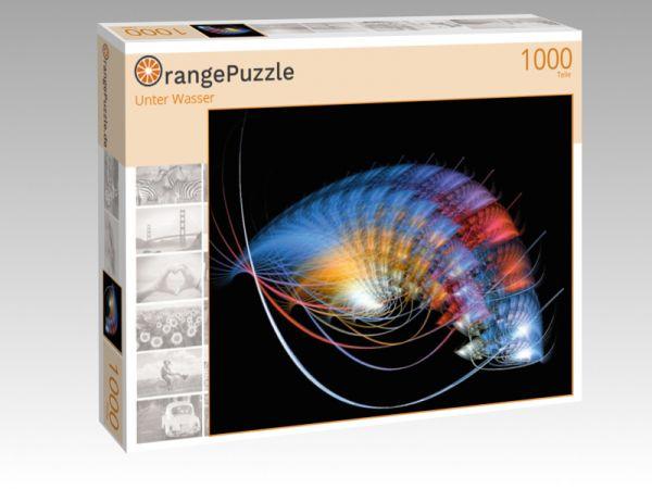 """Puzzle Motiv """"Unter Wasser"""" - Puzzle-Schachtel zu 1000 Teile Puzzle"""