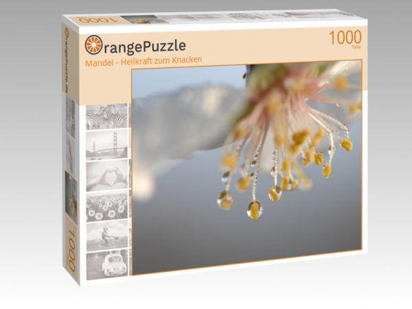"""Puzzle Motiv """"Mandel - Heilkraft zum Knacken"""" - Puzzle-Schachtel zu 1000 Teile Puzzle"""