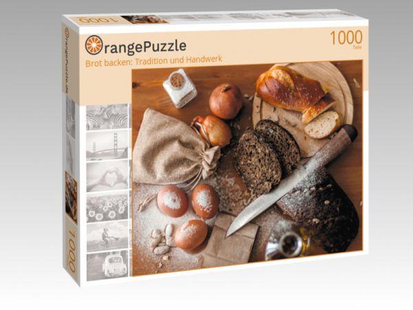 """Puzzle Motiv """"Brot backen: Tradition und Handwerk"""" - Puzzle-Schachtel zu 1000 Teile Puzzle"""