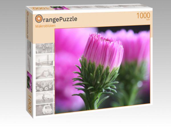 """Puzzle Motiv """"Makroblüten"""" - Puzzle-Schachtel zu 1000 Teile Puzzle"""