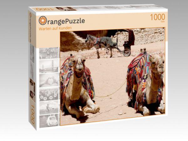 """Puzzle Motiv """"Warten auf Kunden"""" - Puzzle-Schachtel zu 1000 Teile Puzzle"""