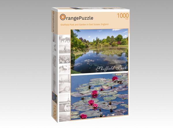 "Puzzle Motiv ""Sheffield Park and Garden in East Sussex, England"" - Puzzle-Schachtel zu 1000 Teile Puzzle"