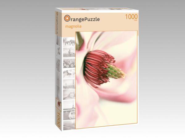"""Puzzle Motiv """"magnolia"""" - Puzzle-Schachtel zu 1000 Teile Puzzle"""