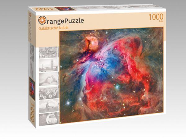 """Puzzle Motiv """"Galaktische Nebel"""" - Puzzle-Schachtel zu 1000 Teile Puzzle"""