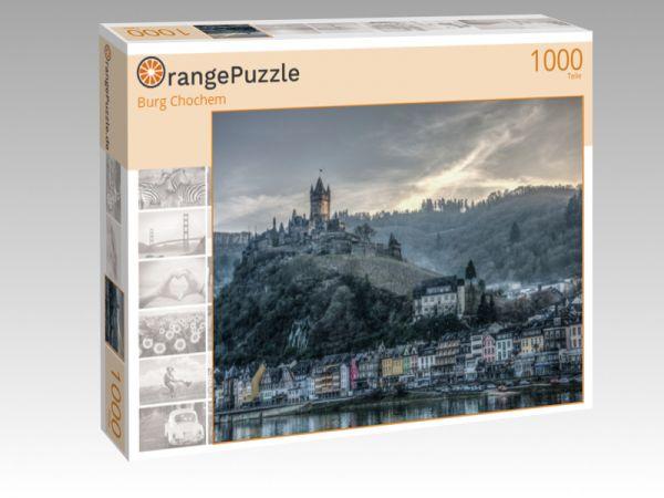 """Puzzle Motiv """"Burg Chochem"""" - Puzzle-Schachtel zu 1000 Teile Puzzle"""