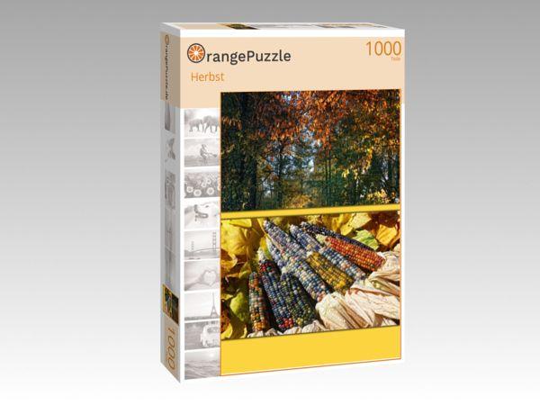 """Puzzle Motiv """"Herbst"""" - Puzzle-Schachtel zu 1000 Teile Puzzle"""