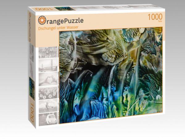 """Puzzle Motiv """"Dschungel unter Wasser"""" - Puzzle-Schachtel zu 1000 Teile Puzzle"""