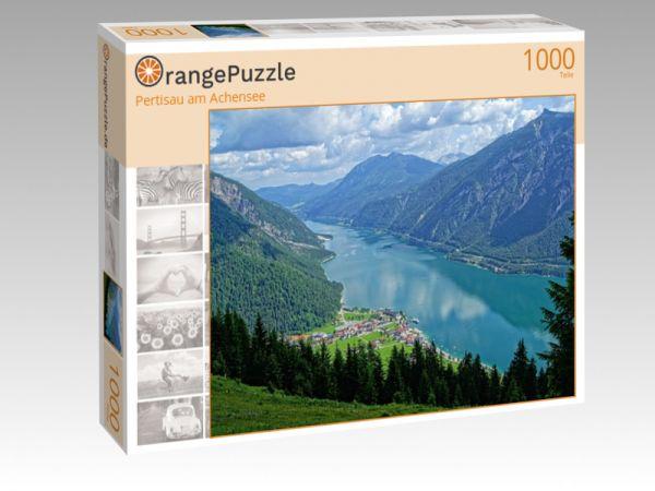 "Puzzle Motiv ""Pertisau am Achensee"" - Puzzle-Schachtel zu 1000 Teile Puzzle"
