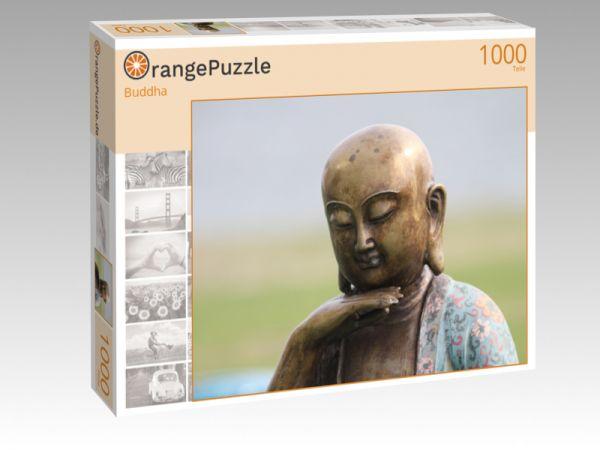 """Puzzle Motiv """"Buddha"""" - Puzzle-Schachtel zu 1000 Teile Puzzle"""