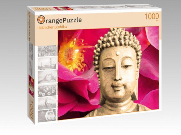 """Puzzle Motiv """"Lieblicher Buddha"""" - Puzzle-Schachtel zu 1000 Teile Puzzle"""