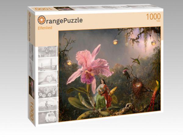 """Puzzle Motiv """"Elfenlied"""" - Puzzle-Schachtel zu 1000 Teile Puzzle"""